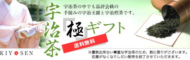 宇治茶【極】ギフト(最高級玉露・最高級煎茶) ★送料無料★